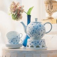 Zestaw do herbaty 6 osób Blaubluten