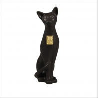 Kot zodiak - czarny