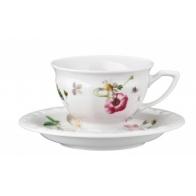 Rosenthal Maria Róża Porcelana Filiżanka i Spodek do espresso