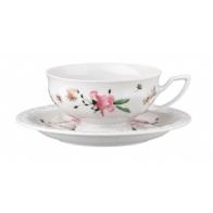 Rosenthal Maria Róża Porcelana Filiżanka i Spodek do herbaty
