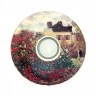 """Świecznik 15cm - Claude Monet """"Dom Artysty"""""""