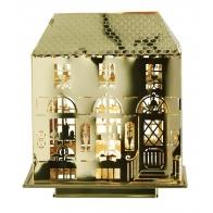 świecznik domek z podsawką