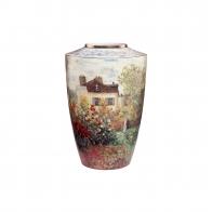 Wazon porcelanowy 18cm - Dom Artysty - Claude Monet