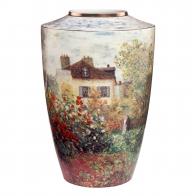 Wazon porcelanowy 41cm - Dom Artysty - Claude Monet
