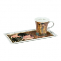 Filiżanka z podstawką 0,15l Art & Coffee - Gustaw Klimt Pocałunek
