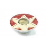 Świecznik - tealight - Złote koło