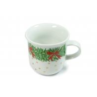 Kubek porcelanowy Świąteczny Czas