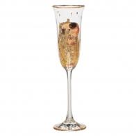 Kieliszek do szampana 24cm Pocałunek - Gustav Klimt Goebel 66926708