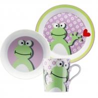 Zestaw dla dzieci - Funny Zielona Żaba