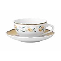 Filiżanka do herbaty ze spodkiem 0,22l Alfabia 02013-720370-14640 Hutschenreuther