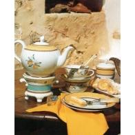 Zestaw do herbaty dla 6 osób alfabia Hutschenreuther Tee set