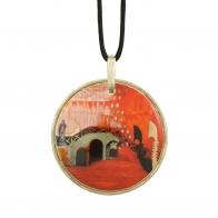 Naszyjnik - Ponte Veneziano - Rosian Wachtmeister 5,5 cm, Goebel 66850769
