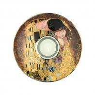 Świecznik 15cm - Pocałunek - Gustaw Klimt Goebel 66900564