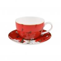 Filiżanka do herbaty 0,25l - Czerwone Lilie Joanna Charlotte Goebel 26150211