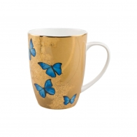 Kubek 0,4l - Niebieskie Motyle Joanna Charlotte Goebel 26150271