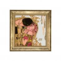 Obraz 36x36cm Pocałunek - Gustav Klimt Goebel 67021600