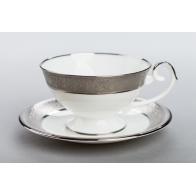 Filiżanka do herbaty PROMETEUSZ - Królewska platynowa AS Ćmielów