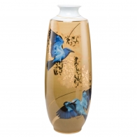 Wazon z porcelany 52cm - Niebieskie Motyle Joanna Charlotte, Goebel sklep 26150061