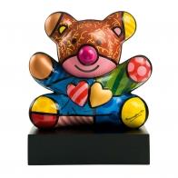 Figurka Miś - Truly Yours 30cm - Romero Britto edycja limitowana, 66-451-47-9 Goebel Sklep Internetowy