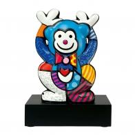 Figurka Niebieska Małpka 33cm - Romero Britto edycja limitowana, 66-451-52-7 Goebel Sklep Internetowy