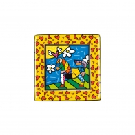 Tacka z porcelany Dancer 8cm - Romero Britto, 66-451-32-1 Goebel sklep Internetowy