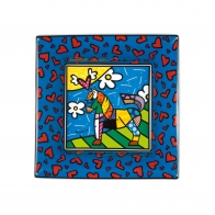 Tacka z porcelany Dancer 16cm - Romero Britto, 66-451-33-9 Goebel sklep Internetowy