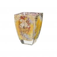 Świecznik Wiosna 11cm - Cztery pory roku 1897- Alfons Mucha, 66-900-92-9, Goebel sklep internetowy