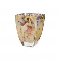 Świecznik lato 11cm - Cztery pory roku 1897- Alfons Mucha,66-900-93-7, Goebel sklep internetowy