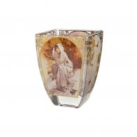 Świecznik Zima 11cm - Cztery pory roku 1897- Alfons Mucha 66-900-95-2 Goebel Sklep internetowy