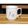 Kubek ćmielowski Różowy Rower, AS Ćmielów, sklep internetowy