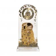 Zegar kryształowy 32cm Pocałunek - Gustav Klimt, Goebel 66879826 Sklep internetosy