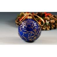 Bombka porcelanowa kobaltowo-złota, AS Ćmielów sklep