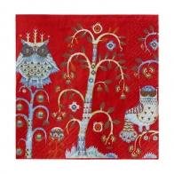 Serwetki papierowe 33cm Taika, czerwony 6411923654999 Iittala sklep internetowy