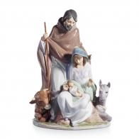 Figurka Święta Rodzina - Radosne Wydarzenie 37x26 cm 01006008 Lladro sklep