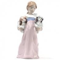 Figurka W ramionach pełnych miłości 20x9 cm 1006419 Lladro Sklep