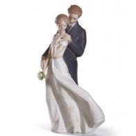 Figurka młodej pary - Wieczna miłość 23cm EVERLASTING LOVE 01008274 Lladro sklep