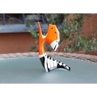 Figurka Dudek - Pomarańczowo-czarna AS Ćmielów sklep internetowy