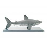 Figurka Rekin Biały 32x76 cm Lladro sklep internetowy