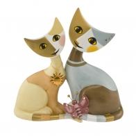 Figurka koty Alida i Saffo Edycja 2016 - Rosina Wachtmeister,31400181 Goebel sklep internetowy