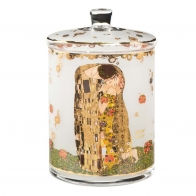 Pojemnik szklany Pocałunek 23cm - Gustaw Klimt 66488471 Goebel sklep internetowy