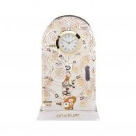 Zegar kryształowy 23cm Pocałunek - Gustav Klimt 66523333 Goebel sklep internetowy