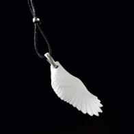 Naszyjnik - biskwitowe skrzydło 6,5cm biżuteria Goebel sklep 14003581