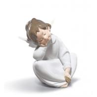 Figurka z porcelany Aniołek śniący, Dreamig Angel 01004961 Lladro sklep