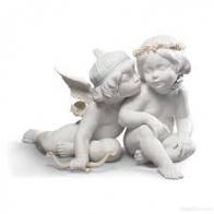 Figurka z pocelany biskwitowej Eros i Psyche 28x43cm 01009128 Lladro sklep