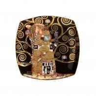 Talerz deserowy 21cm Spełnienie - Gustav Klimt 66-884-89-1 Goebel sklep Klimt