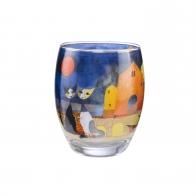 Świecznik 10cm Kolory Słońca Tealight z kotami Rosina Wachtmeister 66851521 Goebel sklep