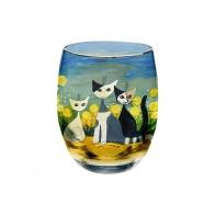Świecznik 10cm Wiosna z kotami Rosina Wachtmeister 66851551 Goebel sklep