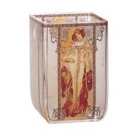 Świecznik Tealight 10cm Jesień Alfons Mucha 66928532 Goebel sklep