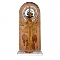 Zegar Jesień 32cm Alfons Mucha 66879841 Goebel Sklep
