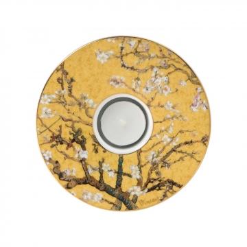 Świecznik 15cm Drzewo Migdałowe Złoto Vincent van Gogh 66900681 Goebel sklep